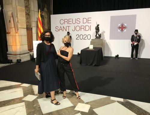 SOL PICÓ, GUARDONADA AMB LA CREU SANT JORDI 2020